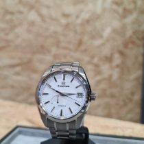 Seiko Grand Seiko Titanium 41mm White No numerals United Kingdom, Uttoxeter