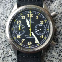 Omega Dynamic Chronograph Acier 38,5mm Noir Arabes