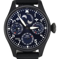 IWC Ceramic Automatic Blue 46mm pre-owned Big Pilot