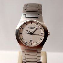 Longines Oposition Steel 29mm White No numerals
