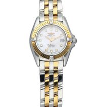 Breitling Callistino pre-owned 30mm Mother of pearl Gold/Steel