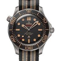 Omega 210.92.42.20.01.001 Titanium 2021 Seamaster Diver 300 M 42mm new