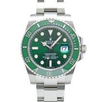 Rolex Submariner Date Сталь 40mm Зеленый