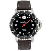 Meistersinger new Automatic Rotating Bezel 43mm Steel Sapphire crystal