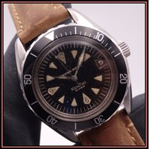 Eterna Super Kontiki Steel 40mm Black No numerals