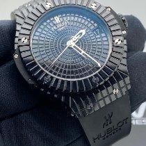 Hublot Big Bang Caviar Seramik 41mm Siyah Rakamsız
