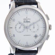 Zenith White gold Automatic Silver Arabic numerals 44mm new El Primero