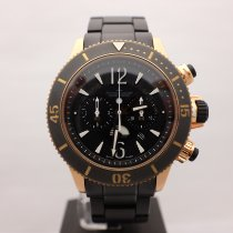 Jaeger-LeCoultre Master Compressor Diving Chronograph GMT Navy SEALs Rose gold 46mm Black