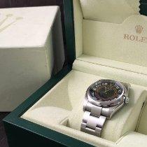 Rolex Oyster Perpetual 36 Otel 36mm Negru Arabic