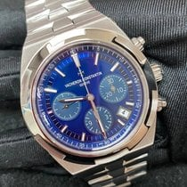 Vacheron Constantin Overseas Chronograph Steel 42.5mm Blue No numerals