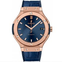 Hublot Classic Fusion Blue Rose gold 38mm Blue No numerals United States of America, New York, New York
