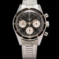 Heuer Steel 38mm Manual winding 2446 pre-owned