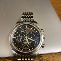 Omega De Ville Co-Axial Steel 44mm Brown United Kingdom, Chesterfield