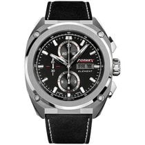 Formex new Automatic Display back Small seconds Luminous hands Luminous indices 46,00mm Steel Sapphire crystal