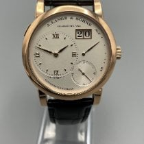 A. Lange & Söhne Lange 1 Rose gold 38.5mm Silver Roman numerals United States of America, New York, Westchester County