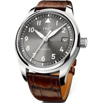 IWC Pilot's Watch Automatic 36 pre-owned 36mm Grey Date