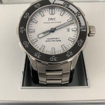 IWC Steel Automatic White 44mm pre-owned Aquatimer Automatic 2000
