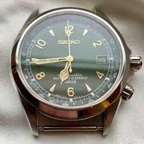 Seiko Spirit Steel 38mm Green Arabic numerals United States of America, New York, Cornwall on Hudson