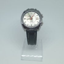 L.Leroy Steel 36mm Automatic 90.5760 pre-owned