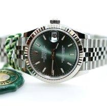 Rolex Lady-Datejust Steel 31mm Green United Kingdom, Edinburgh