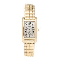Cartier Tank Américaine Yellow gold 24mm Silver United States of America, Pennsylvania, Bala Cynwyd