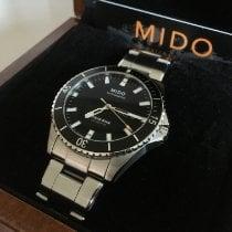 Mido Ocean Star Stal 42.5mm Czarny Bez cyfr