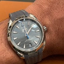 Omega Seamaster Aqua Terra Steel 41mm Blue No numerals United States of America, California, Palo Alto
