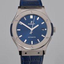 Hublot Classic Fusion Blue подержанные 45mm Синий