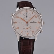 IWC 3712 Steel Portuguese Chronograph 41mm pre-owned