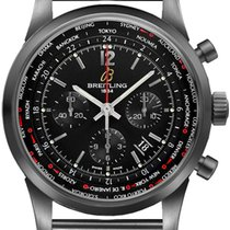 Breitling Transocean Unitime Pilot new Automatic Chronograph Watch with original box MB0510U6-BC80-159M