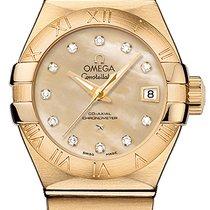 Omega Constellation Ladies новые Автоподзавод Часы с оригинальной коробкой 12350272057002