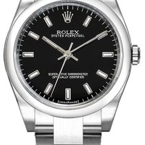 Rolex Oyster Perpetual 26 Steel 26mm Black United States of America, California, Moorpark