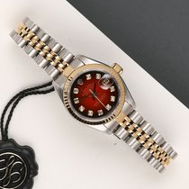 Rolex 69173 Zlato/Ocel 1994 Lady-Datejust 26mm použité