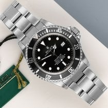 Rolex Sea-Dweller 4000 Zeljezo 40mm Crn