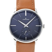 Junghans Meister Hand-winding Steel 37.7mm Blue