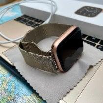 Apple Stahl 44mm Quarz MYEX2FD/A gebraucht