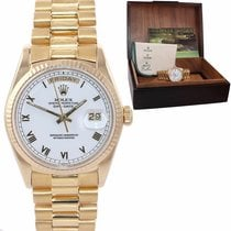 Rolex Yellow gold Day-Date 36 36mm pre-owned United States of America, New York, Huntington