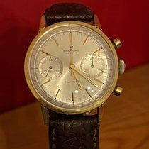 Breitling Top Time Gold/Steel White No numerals