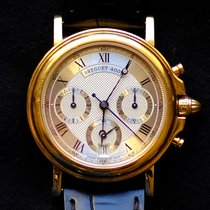 Breguet Marine Yellow gold 36mm Silver Roman numerals United Kingdom, Glasgow