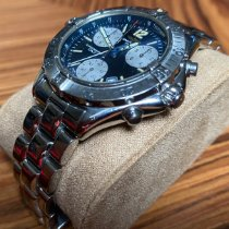 Breitling Colt Chronograph Steel 38mm Blue No numerals