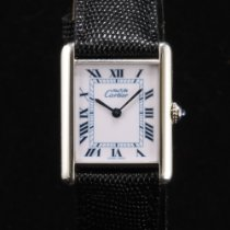 Cartier Tank (submodel) Very good Silver 19mm Quartz