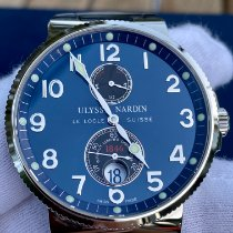 Ulysse Nardin Marine Chronometer 41mm Steel 41mm Blue Arabic numerals United States of America, Florida, Lutz