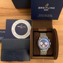 Breitling AB01212B1C1A1 Acero 2019 Navitimer 1 B01 Chronograph 43 43mm nuevo