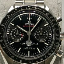 Omega Speedmaster Professional Moonwatch Moonphase Steel Black No numerals United States of America, California, Citrus Heights