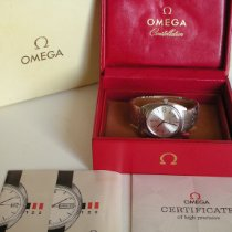 Omega White gold Automatic Gold 36mmmm pre-owned Constellation