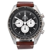 Omega Speedmaster Professional Moonwatch Steel 42mm Black No numerals
