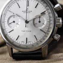 Breitling Top Time Steel 36mm Silver No numerals United States of America, North Carolina, Durham