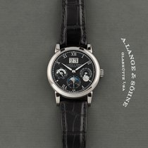 A. Lange & Söhne Langematik Perpetual White gold 38.5mm Black United States of America, New York, Airmont
