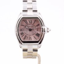 Cartier Roadster Steel 31mm Pink Roman numerals United Kingdom, London