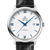 Omega White gold Automatic White Roman numerals 39.5mm new De Ville Prestige